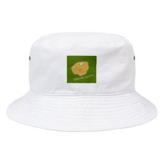 居座るおこめつぶ Bucket Hat