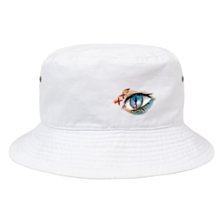 ガラスの目 Bucket Hat