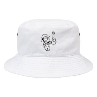 ウクレレを買ったおじさん Bucket Hat