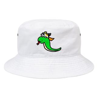 蛇乗りライダーのネコキング Bucket Hat