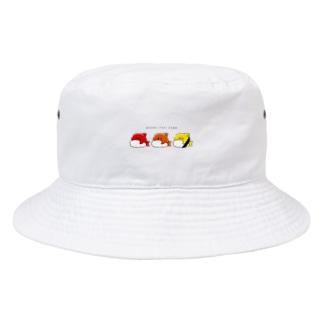 ヨシダ夢助のおすしっぽいさめ Bucket Hat
