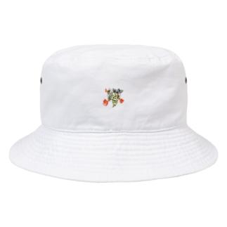伝説の偉そうなハチ Bucket Hat