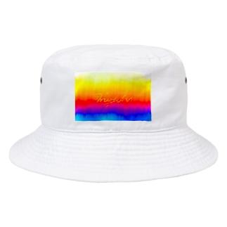 rainbow sin@色々 Bucket Hat