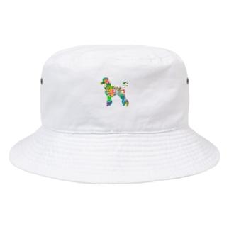 プードルハワイ Bucket Hat
