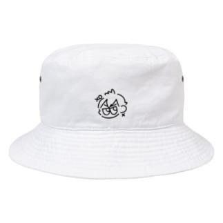 ばつまるくん Bucket Hat