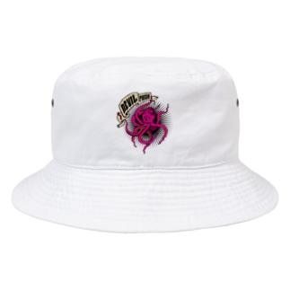 デビルフィッシュ リデザイン Bucket Hat