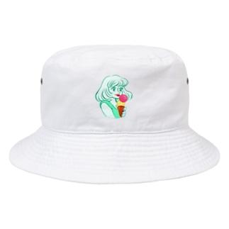 アイスが食べたい Bucket Hat