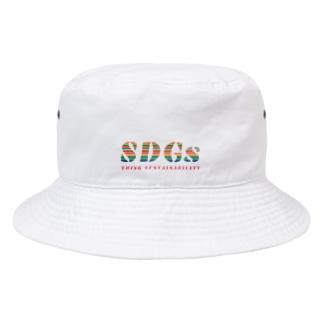 SDGs - think sustainability Bucket Hat