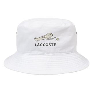 ラッコ捨て Bucket Hat