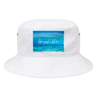 Ishigaki blue Bucket Hat