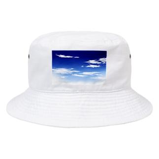 青空(手描き) Bucket Hat