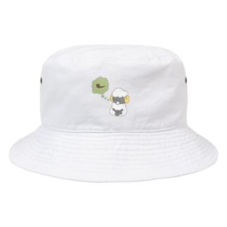 禁煙するひつじ Bucket Hat