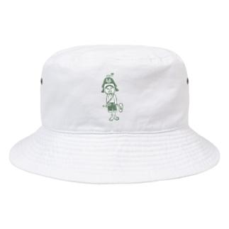 かき氷夏男くん。 Bucket Hat