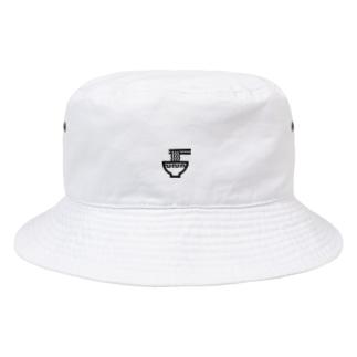 ラーメン(黒) Bucket Hat