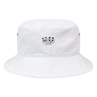 パンダパンダ Bucket Hat