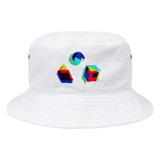 ◯△▢ Bucket Hat