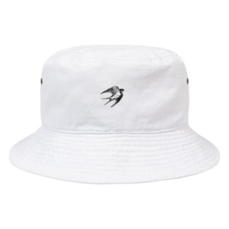 ツバメ Bucket Hat