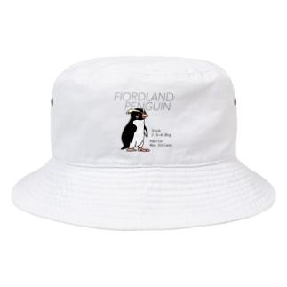 フィヨルドランドペンギン Bucket Hat