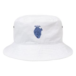 心臓 (青) Bucket Hat