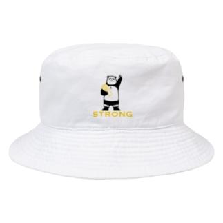パンダプロレス チャンピオン リアルver. Bucket Hat