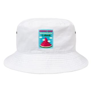 スイカクライミング Bucket Hat