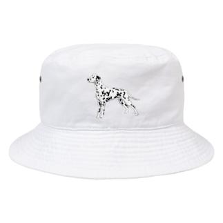 ダルメシアン スタック Bucket Hat