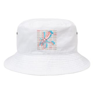 イカさん ハングル Bucket Hat