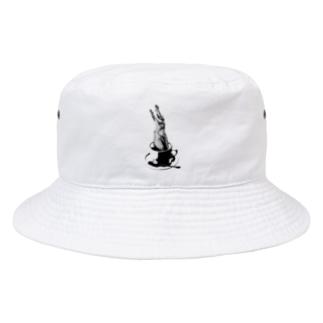 Crocochinno (Black) Bucket Hat