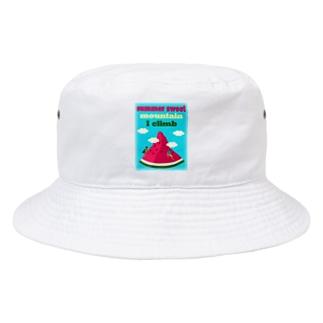 スイカクライミング(クライマー大Vr) Bucket Hat
