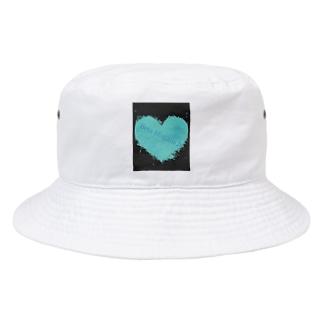 鼓動 BLUE Bucket Hat