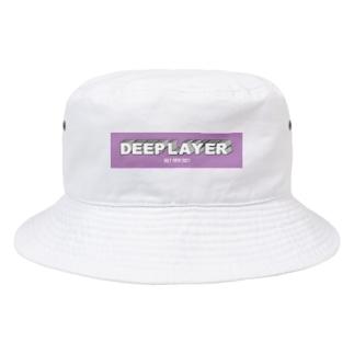 DEEP LAYER box logo Bucket Hat