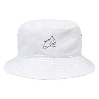 ロゴ風UMA Bucket Hat