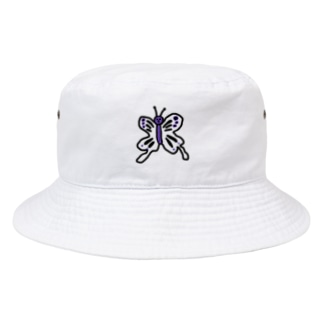 毒あるちょうちょう Bucket Hat