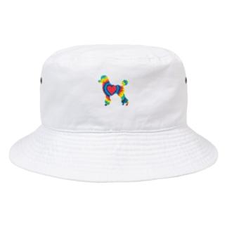 タイダイプードル Bucket Hat