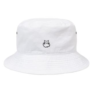 毛長の曲がりひげねこ Bucket Hat