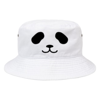 まったりパンダ-フェイス Bucket Hat