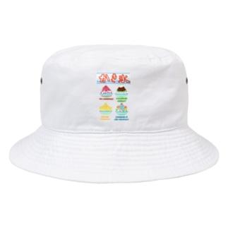 かき氷メニュー Bucket Hat