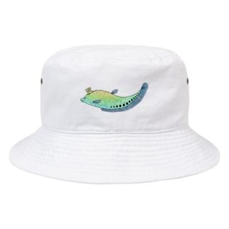 ふわふわクラウンナイフフィッシュ Bucket Hat