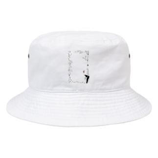 朝 Bucket Hat