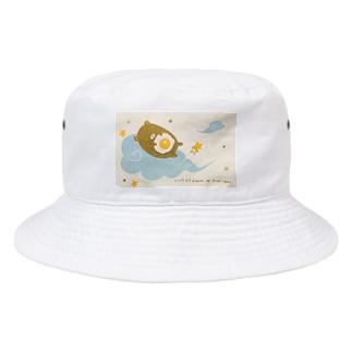 みんなで目玉焼きの夢をみよう Bucket Hat