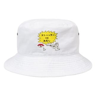 なで肩うさぎの美香堂のスシハンターvsおすし Bucket Hat