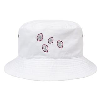 ドラゴンフルーツ Bucket Hat