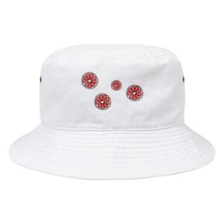 グレープフルーツ Bucket Hat