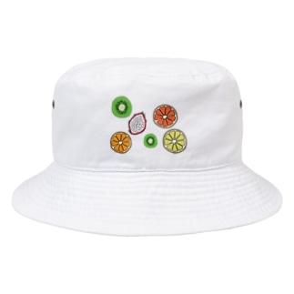 フルーツ盛り合わせ Bucket Hat