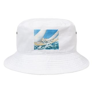 ルイ・イカール《ヨットレース》 Bucket Hat