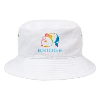 パンダプロレス ブリッジ 虹色 Bucket Hat