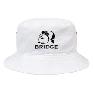 パンダプロレス ブリッジ Bucket Hat