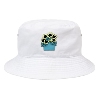 H  yellow Bucket Hat