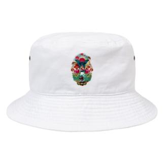 コラージュグッズ Bucket Hat