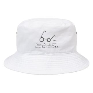 gamiめがね Bucket Hat